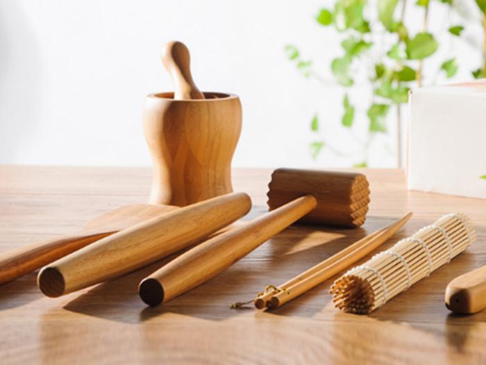 竹のキッチン雑貨